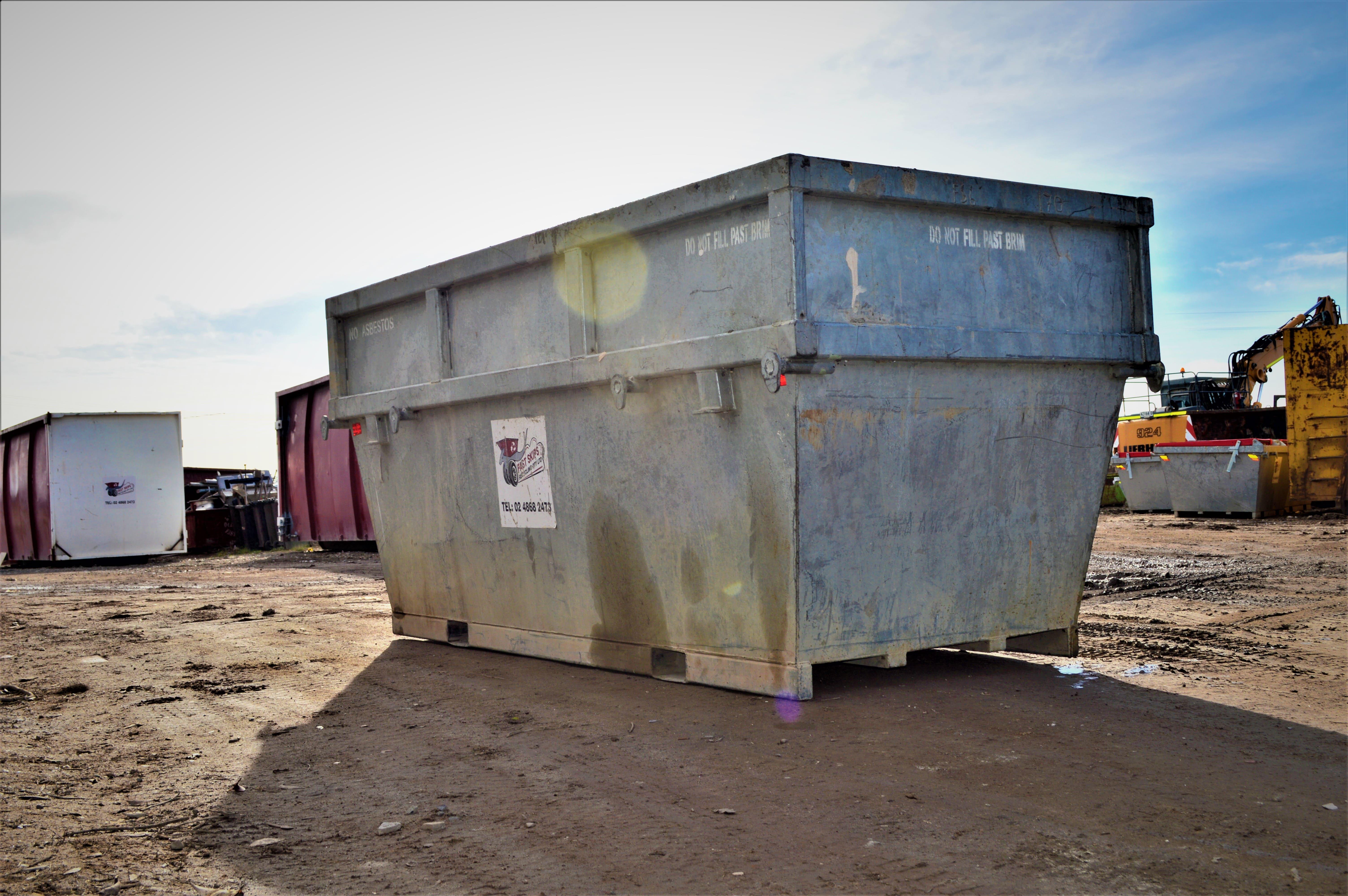 Large skip bin