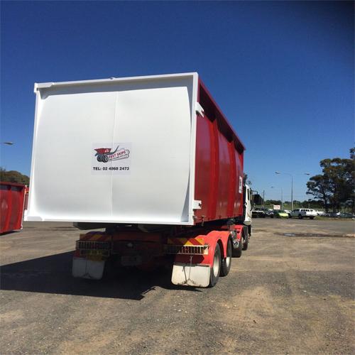 Waste Management Services Truck